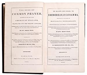 The Book of Common Prayer, According to the Use of the Church of England, Translated into the Moh...