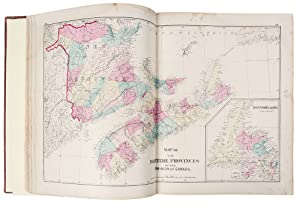 Atlas of the Maritime Provinces of the Dominion of Canada, with Historical and Geographical Descr...