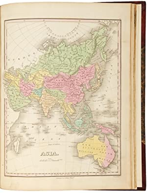 A New General Atlas, comprising a complete set of maps, representing the grand divisions of the g...