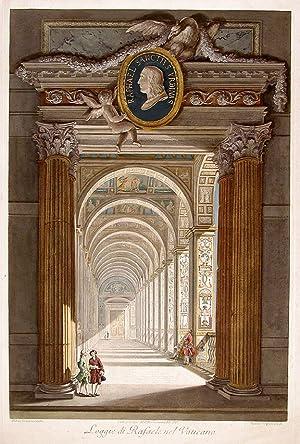 Loggie di Rafaele nel Vaticano: RAPHAEL. Raffaello Sanzio d'Urbino (1483-1520)