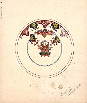 An original design for a porcelain plate: SAMSON & CO. (designers)