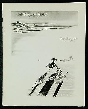 Spring Long Shore: BRASHER, Rex (1869-1960)
