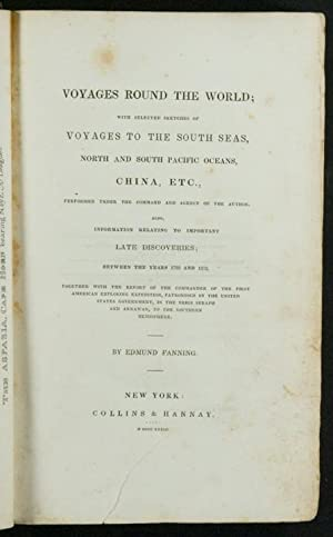 Voyages Round the World; with selected sketches of voyages to the South Seas, North and South ...