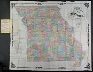 Clark's New Sectional Map of Missouri compiled & engraved from the United States land surveys and...