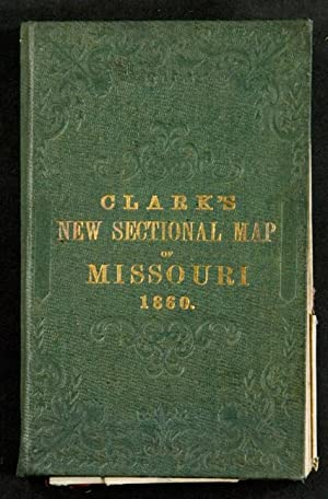 Clark's New Sectional Map of Missouri compiled & engraved from the United States land ...