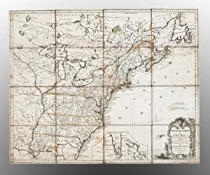 British Dominions in America agreeable to the: KITCHIN, Thomas (1719-1784)