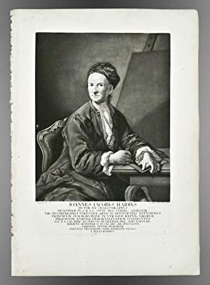 Joannes Jacobus Haidius pictor et chalcographus: TREW, Christoph Jakob (1695-1769) - Johann Elias ...