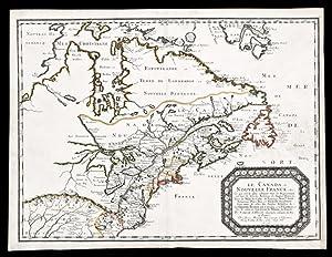 Le Canada, ou Nouvelle France, &c .: SANSON d'Abbeville, Nicolas (1600-67)
