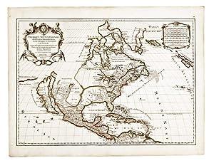 Amerique Septentrionale divisée en ses Principales Parties,: JAILLOT, Alexis-Hubert (1632-1712)