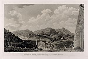 The Bridge over the River Gallions, from the foot of Fort Matilda, Guadaloupe: WILLYAMS, C. Rev