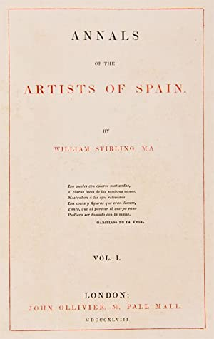 Annals of the Artists of Spain . [With:] Talbotype Illustrations to the Annals of the Artists of ...