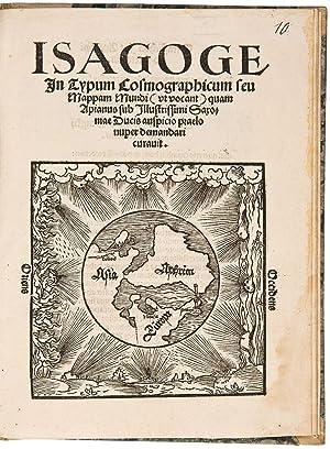Isagoge in Typum Cosmographicum seu Mappam Mundi: APIANUS, Petrus (1495-1552)
