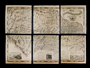 Map of Clear Creek County, Colorado. Drawn and compiled by Theo. H. Lowe and F.F. Bruné, C.E., Id...