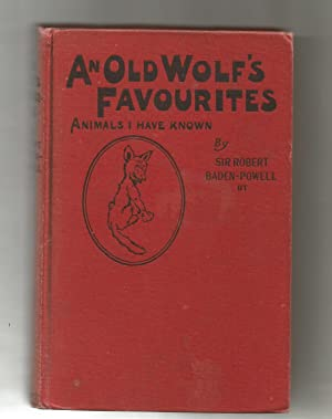 An Old Wolf's Favourites Animals I Have Known