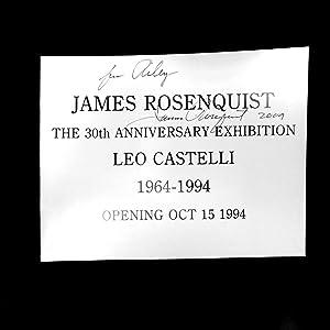 30th AnniversaryExhibition Catalogue 1994 ( SIGNED): Rosenquist, James