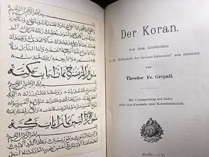 Der Koran. Aus dem Arabischen für die: Koran -