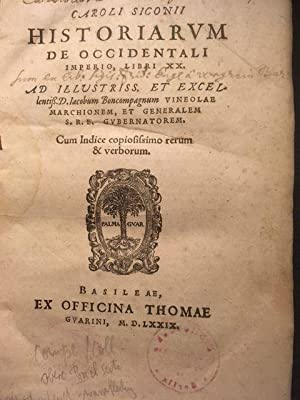 Historiarum de occidentali imperio, libri XX.