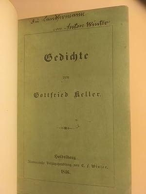 Gottfried Keller First Edition Abebooks