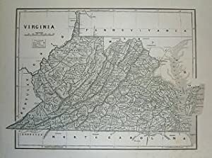 (Map of Virginia): Virginia