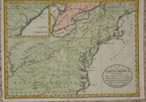 (Map of North America): Part of North America, comprehending the Course of the Ohio, New England,...