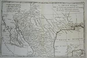 (Map of Mexico, area of Texas): Le Nouveau Mexique, avec la Partie Septentrionale de L'Ancien, ou...