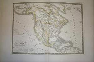 (Map of North America): Carte Generale De L'Amerique Septentrionale.