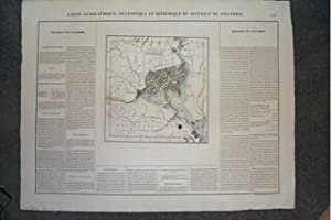 (Map of Washington, D.C.): Carte Geographique, Statistique et Historique Du District De Colombie
