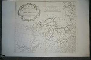 (4 Map / Chart Set- USA, Canada, Great Lakes): Canada Louisiane et Terres Angloises.