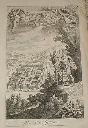 Biblical Engraving; Book of Revelations]: The New Jerusalem: Blome, Richard