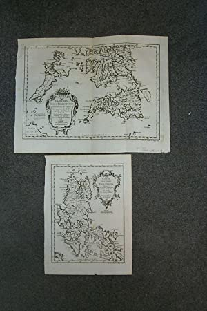 (Map/ Chart of Philippines- 2 Sheets; North and South): 1. Carte Des Isles Philippines.Ire. Feuil...
