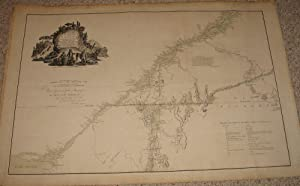 (Revolutionary War Era): A map of the inhabited part of Canada from the French surveys; wiith the...