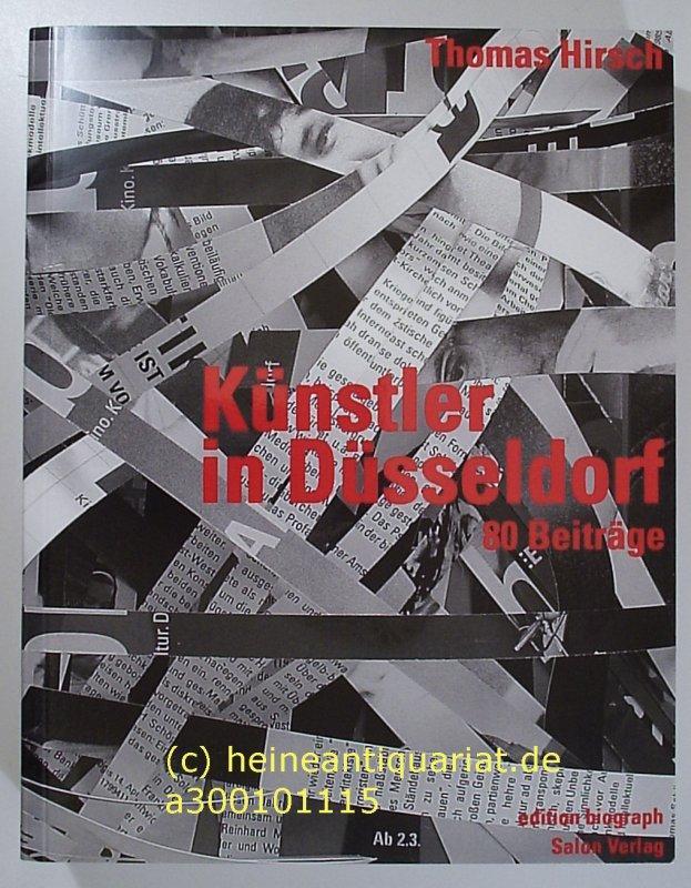 k nstler in d sseldorf 80 beitr ge herausgegeben von. Black Bedroom Furniture Sets. Home Design Ideas