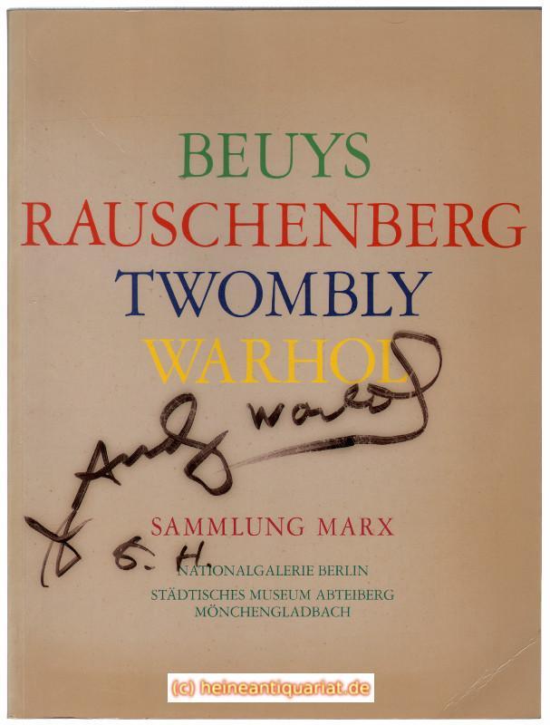 joseph beuys marcel broodthaers robert rauschenberg andy warhol