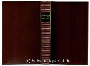 Théâtre. Préface [et index biographique] Jacques de: Montherlant, Henry de