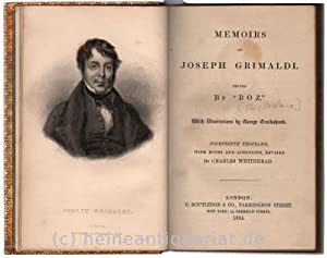 Memoirs Of Joseph Grimaldi. Edited by
