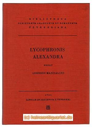 Lycophronis. Alexandra. Edidit Lorenzo Mascialino.: Lykophron