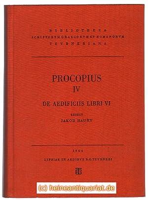 Procopii Caesariensis. Opera Omnia. Vol. IV. De: Procopius