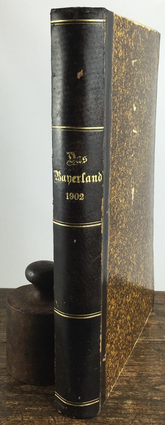 Das Bayerland. Illustrierte Wochenschrift für Bayerns Volk: Leher, Heinrich (Hrsg.)