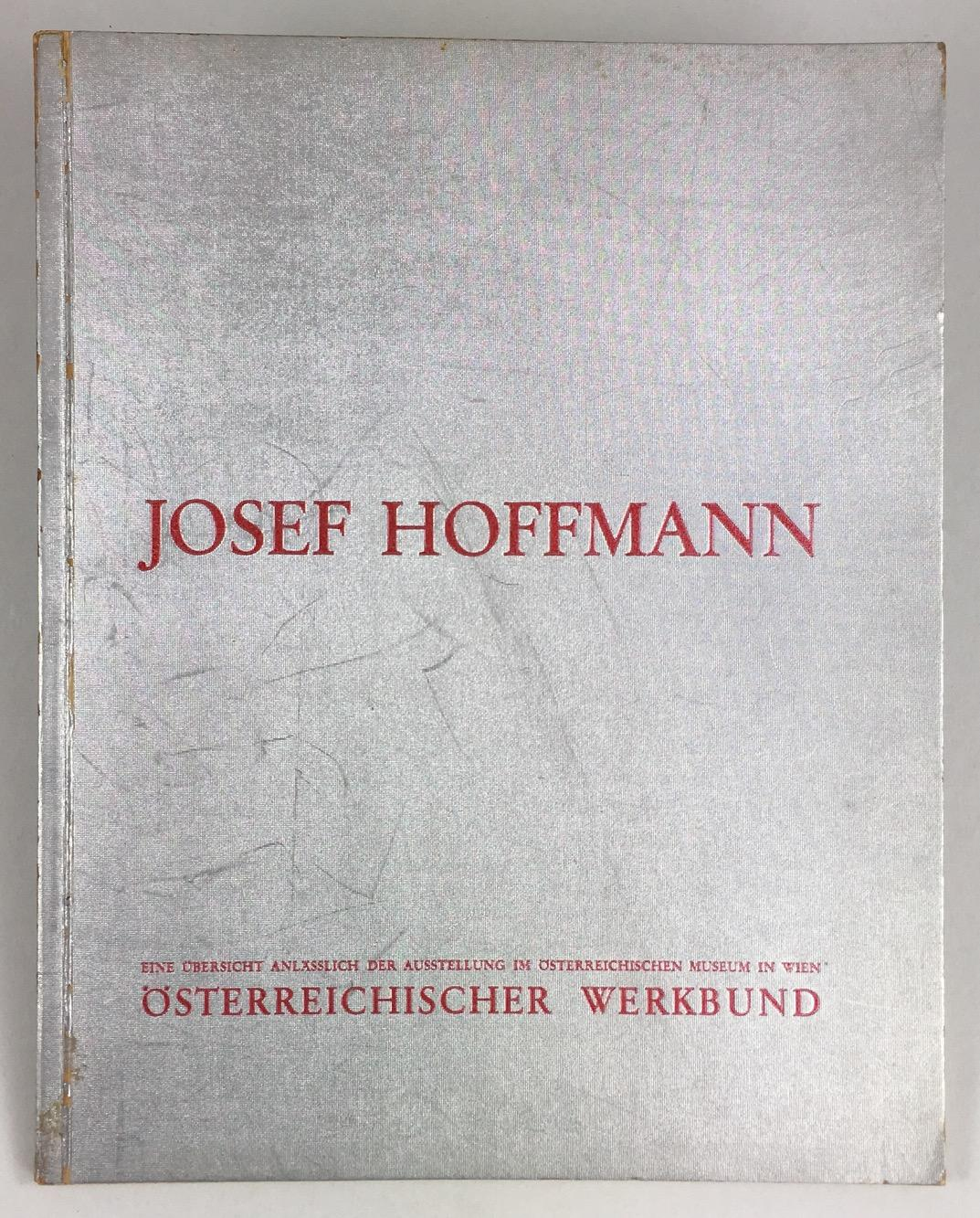 josef hoffmann zum sechzigsten geburtstage 15 dezember osterreichischer werkbund hrsg