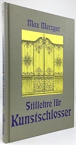 Buch Max Metzger von Metzger Modellbuch für Kunstschlosser