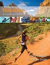 Nutrition for Sport and Exercise: Dunford, Marie; Doyle,