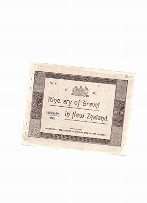 Itinerary of Travel in New Zealand: o.A.