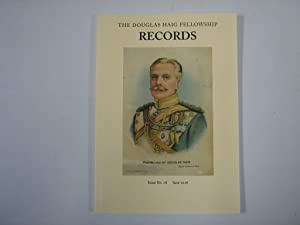 Records. The Douglas Haig Fellowship. Issue No. 18, June 2016