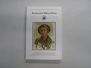 The Journal of Military History. Vol 81, No. 4. October 2017