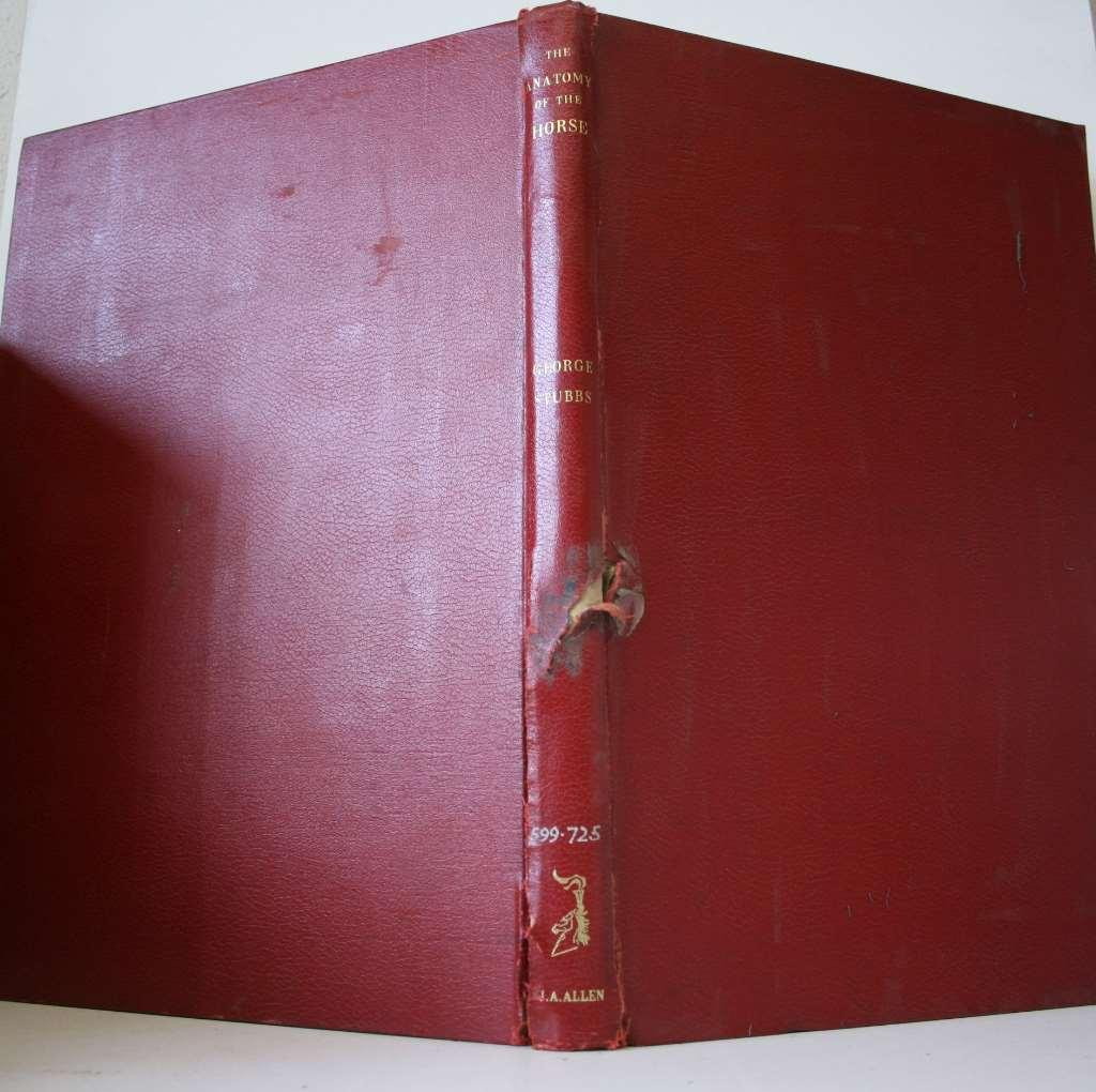 Anatomy Horse by George Stubbs, Hardcover - AbeBooks