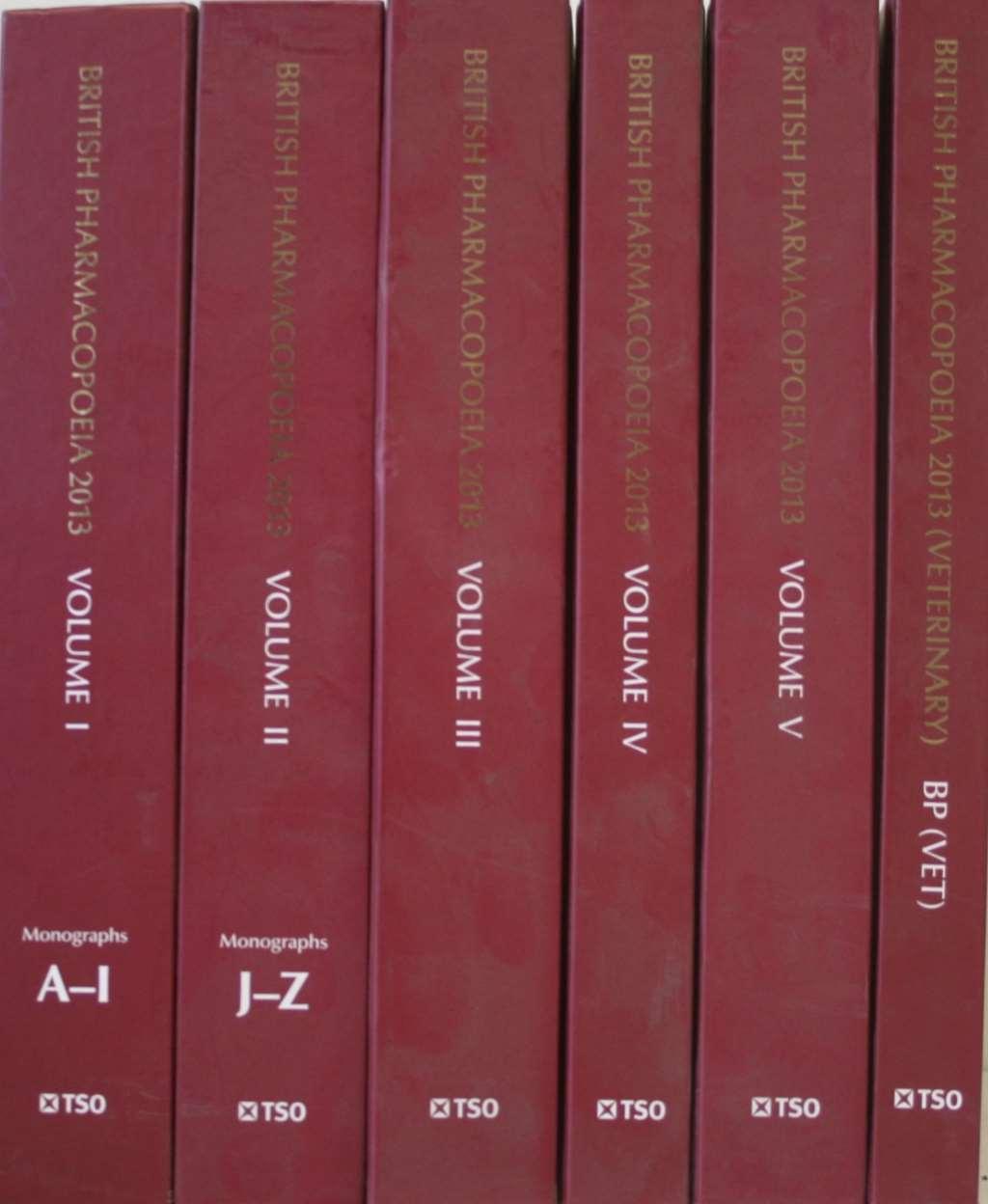 British Pharmacopoeia Book