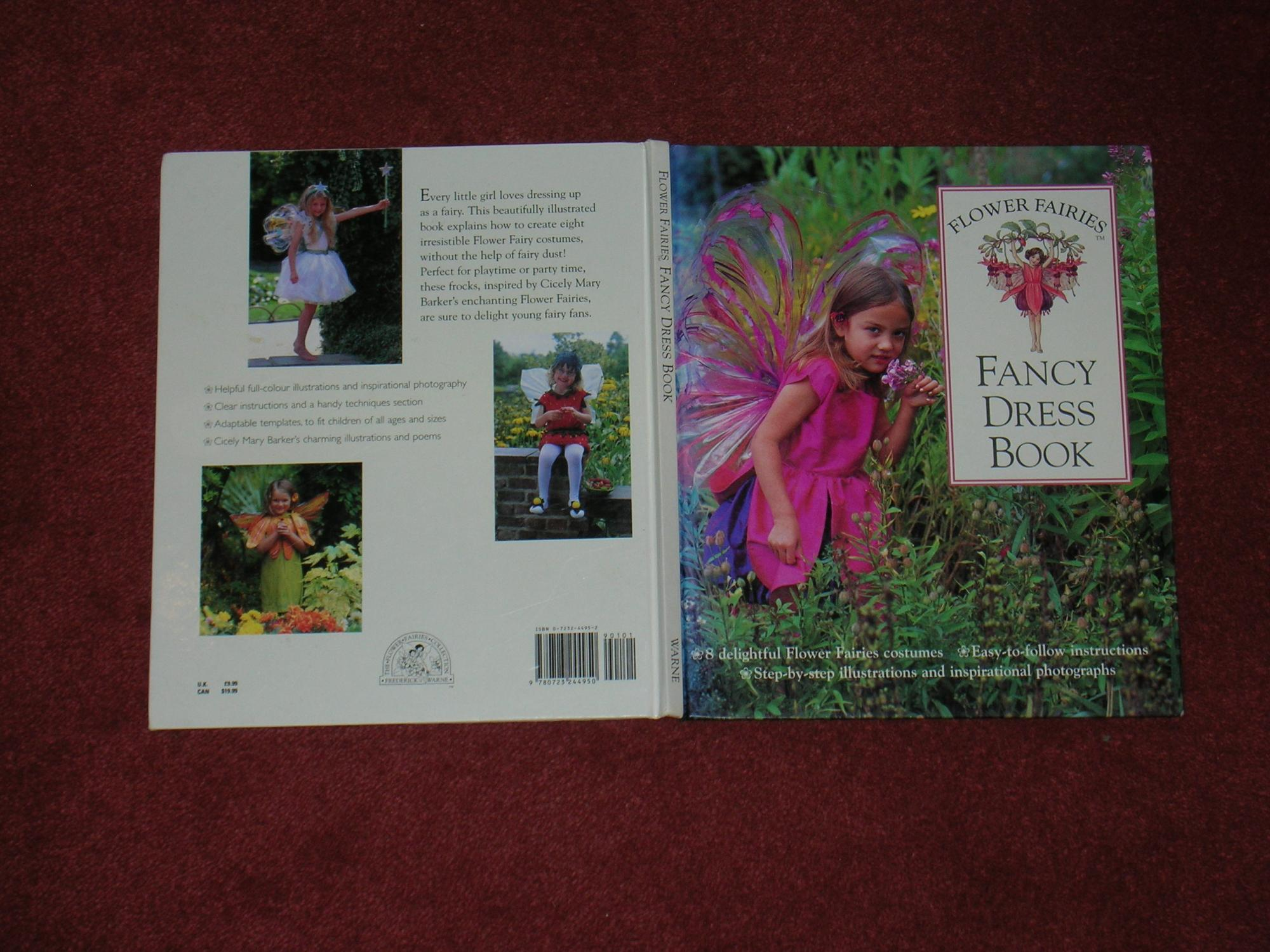 Flower Fairies Fancy Dress Book Frederick Warne London 9780723244950 Hard Cover First Edition Hencotes Books Penny Pearce