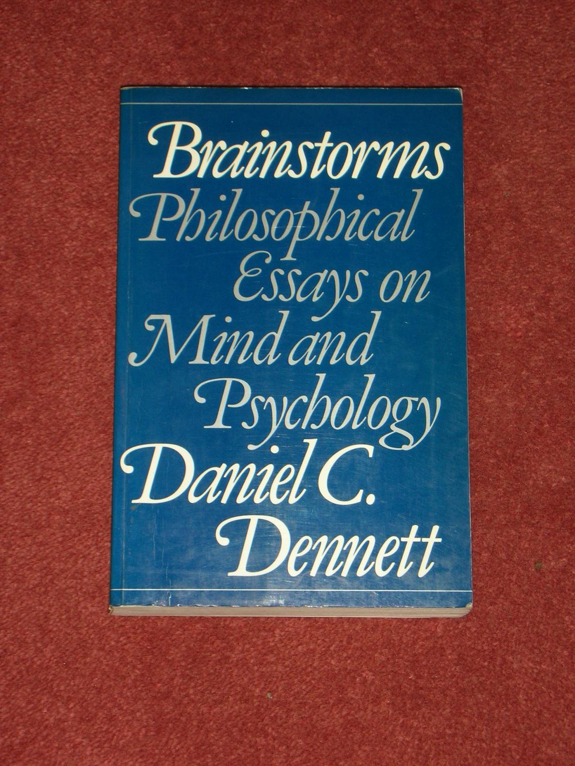 brainstorms philosophical essays on mind and psychology