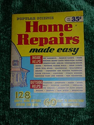 Home Repairs Made Easy Fix it Yourself