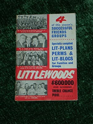 Littlewoods £600,000 Five Dividend Treble Chance Pool